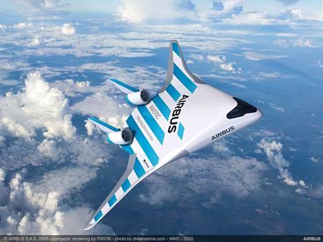 Airbus on esitellyt Maveric-koneesta havainnekuvia.