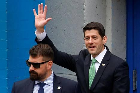 Yhdysvaltain edustajainhuoneen puhemies Paul Ryan.