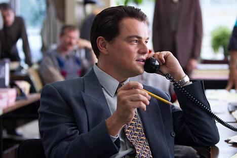 Leonardo di Caprio nähdään pörssimeklari Jordan Belfortin roolissa.