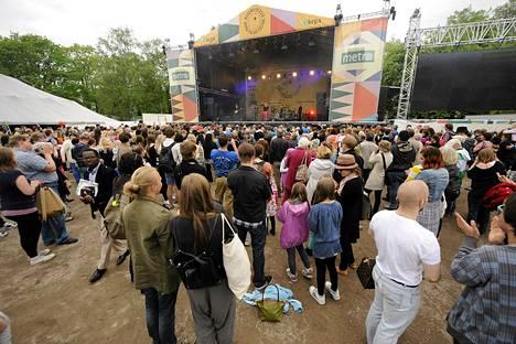 Maailma kylässä -festivaalit järjestettiin Helsingissä toukokuun lopulla.