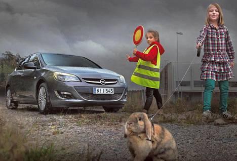Opel Astra on tyylikäs perheauto