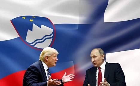 """Slovenia ja Suomi """"kisaavat"""" suurvaltajohtajien mahdollisen huipputapaamisen järjestämisestä."""