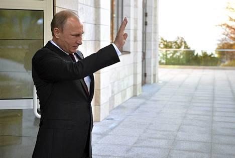 Vladimir Putin teki strategisen kumppanuussopimuksen Abhasian kanssa.