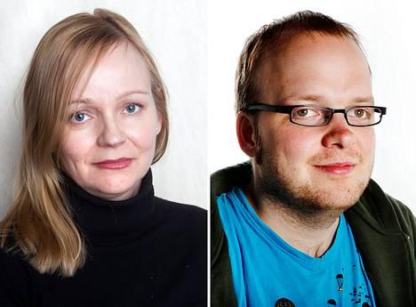 Anu Nousiainen ja Esa Mäkinen