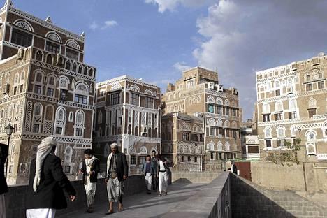 Saksalaismies siepattiin Sanaan kaupungissa Jemenissä.