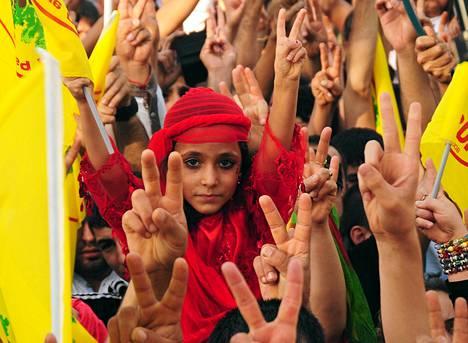 Kurdiväestö juhli rauhan päivää Diyarbakirissa syyskuun ensimmäisenä päivänä.