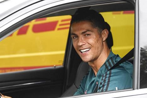 Cristiano Ronaldolla on syytä hymyyn.