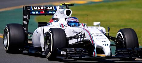 Williamsin Valtteri Bottas kuuluu uuden jarrujärjestelmän kannattajiin.