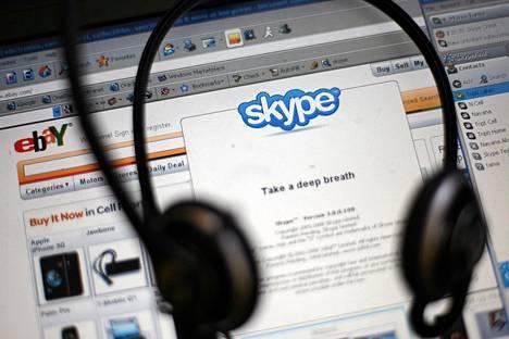 Syyrialaiset hakkerit iskivät internetpuhelupalvelu Skypeen.
