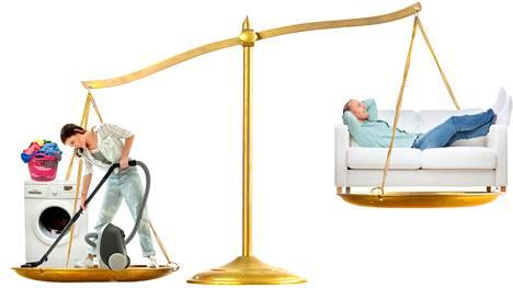 Parisuhteessa annettujen panosten epäsuhta voi lyödä kiilan osapuolien väliin.