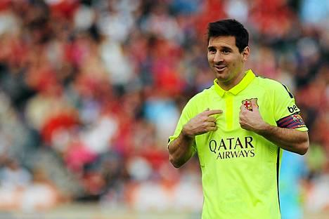 Tänään ei ollut Lionel Messin päivä.