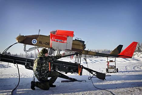 Puolustusvoimat osti sveitsiläis-israelilaisia Ranger-lennokkeja parikymmentä vuotta sitten.