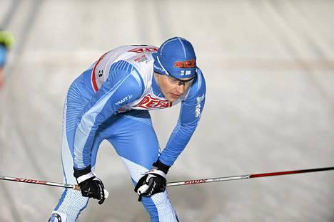 Anssi Pentsinen hakee sprinttikuntoa tulevalle talvelle.