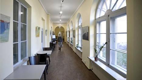 Lapinlahden sairaala on myös sisätiloiltaan kulttuurihistoriallisesti arvokas miljöö.