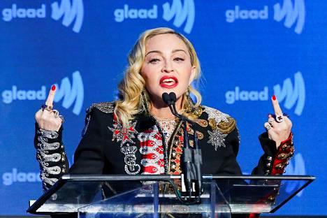 Madonnan on tarkoitus esiintyä Euroviisu-finaalin väliajalla Tel Avivissa lauantaina.