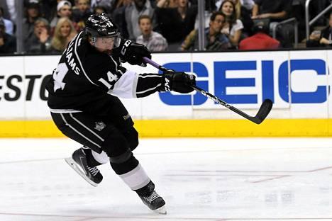 Los Angeles Kingsin hyökkääjä Justin Williams nousi ensimmäisen Stanley Cup -finaalin ratkaisijaksi.