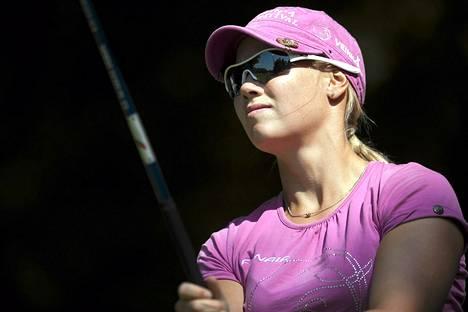 Minea Blomqvistin peli kohenee kisa kisalta.