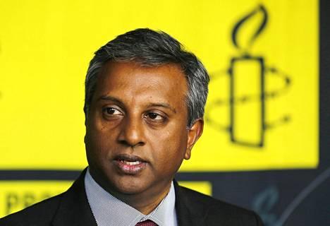 Ihmisoikeusjärjestö Amnesty Internationalin pääsihteeri on intialainen Salil Shetty.