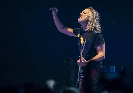 Metallican soolokitaristi Kirk Hammett oli opetellut Reijo Heiskasen kitarasoolon sävel säveleltä.