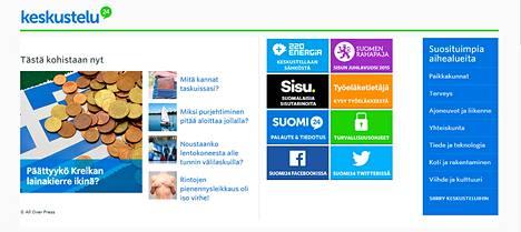 Kuvakaappaus Suomi24 -sivustolta