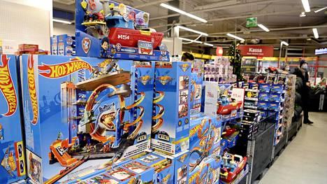 Lelukauppa käy joulun alla 5–6 kertaa vilkkaampana kuin muina vuodenaikoina, kertoo Verkkokauppa.comin Seppo Niemelä.