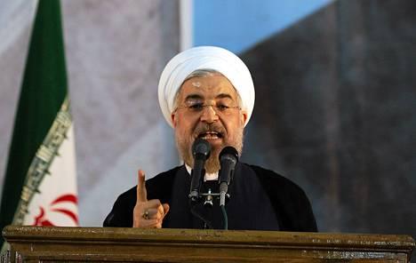 Iranin presidentti Hassan Rouhani.