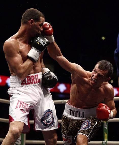 Abril myönsi Tatlin kovemmaksi vastustajaksi kuin mitä hän odotti.