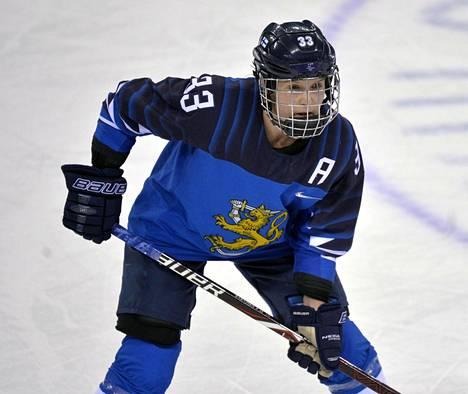 Michelle Karvinen haluaa voittaa Kanadan.