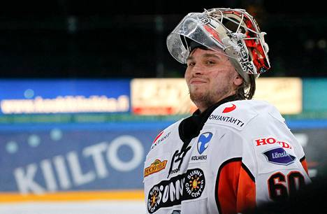 HPK:n Mika Järvinen torjui kumoon entisen joukkueensa Jokerit. Kuva on viime keväältä.