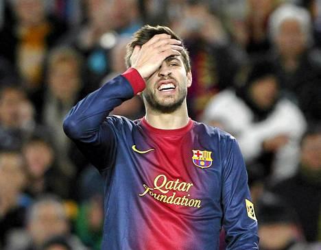 FC Barcelonan Gerard Pique ei olekaan vielä isä.