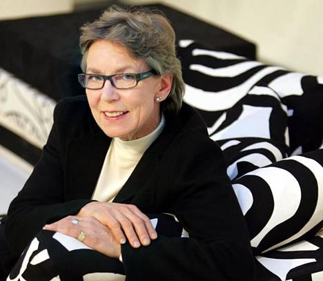 Suunnittelija Kristina Isola on kulttuurialan kovatuloisimpia tekijöitä.
