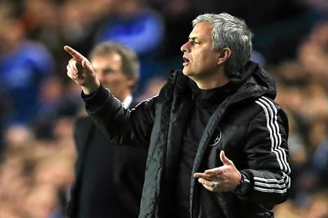 Jose Mourinhon valmentama Chelsea on Valioliigassa toisena.