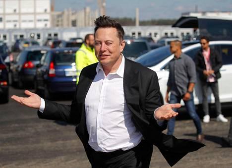 Teslan toimitusjohtaja Elon Musk