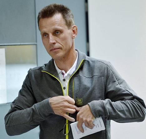 Kari-Pekka Kyrö oli Helsingissä dopingkäräjillä kesäkuussa 2013.