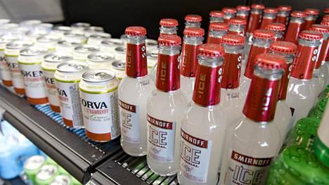 Alkoholilain uudistus toi myös limuviina ruokakauppoihin.