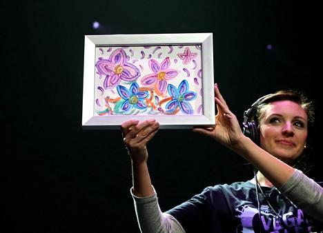 Britney Spearsin maalaus huutokaupattiin 10 000 dollarilla Las Vegasissa marraskuussa 2017.