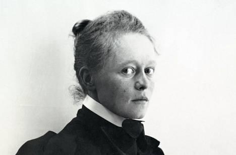 Helene Schjerfbeck vuonna 1893.