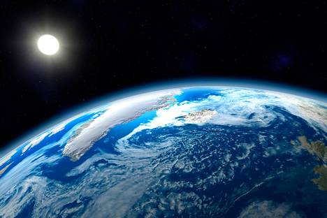 Merten ja ilmakehän kannalta on hyvä, että maapallo pyörii.