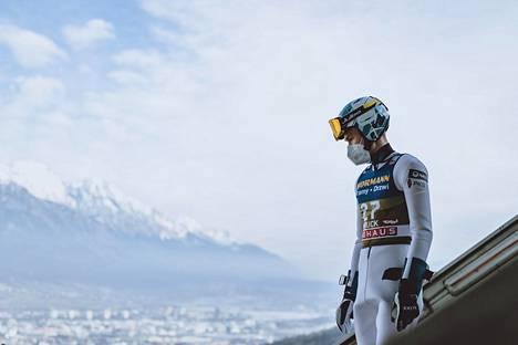Antti Aalto hyppäsi Innsbruckin karsintakisan 19:nneksi.