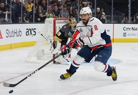 Washingtonin kapteeni Aleksandr Ovetškin pelaa erittäin vahvoja pudotuspelejä.