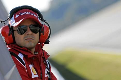 Ferrarin Felipe Massa ajaa ensi kaudella Williamsilla.