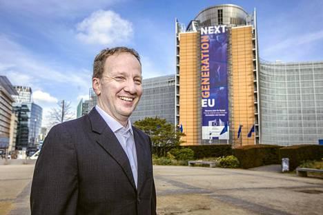 Guntram Wolff johtaa riippumatonta Bruegel-ajatushautomoa Brysselissä.