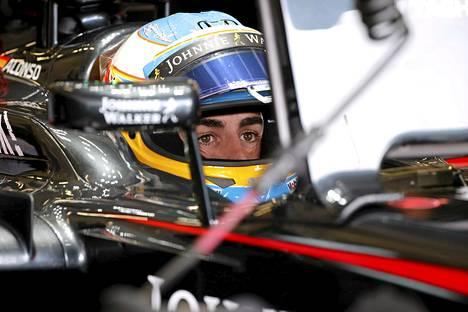 Fernando Alonso on McLarenilla yhä ilman MM-pisteitä.