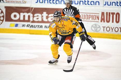Rauman Lukon Lauri Tukonen tähyää KHL:ään.