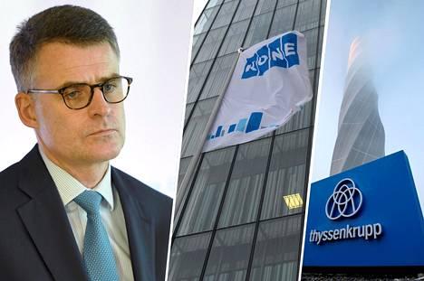 Hissejä ja liukuportaita valmistavan Koneen toimitusjohtajan Henrik Ehrnroothin mukaan yhtiö vetäytyi saksalaisen kilpailijansa Thyssenkruppin hissiliiketoiminnan tarjouskilpailusta liian suurien riskien takia.