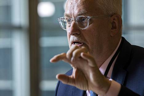 Kokoomuksen europarlamentaarikko Petri Sarvamaa.