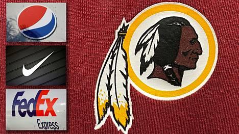Sijoitusyhtiöt ja osakkeenomistajat vaativat Pepsiä, Nikea ja Fedexiä vetämään sponsorirahansa Washington DC:n amerikkalaisen jalkapallon joukkueelta.