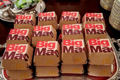 Kiista hampurilaisen nimestä käynnistyi, kun McDonald'sin irlantilainen kilpailija Supermac's aloitti oikeustaistelun Big Macin nimestä 2017.