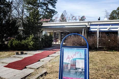 Kino Tapiola Espoossa pääsee avaamaan ovensa 3. kesäkuuta.