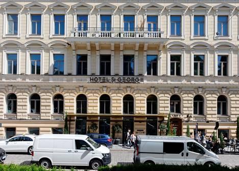 Luksushotelli St George avautui Helsingissä vuonna 2018.